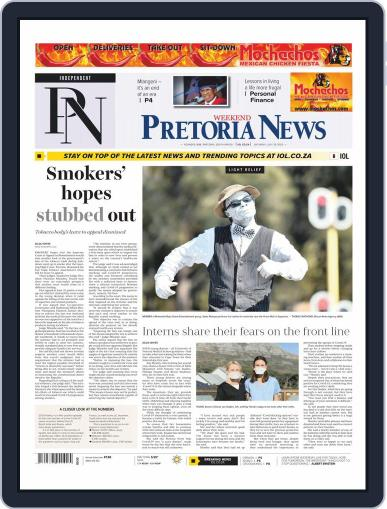 Pretoria News Weekend July 25th, 2020 Digital Back Issue Cover
