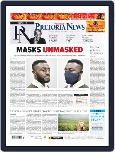 Pretoria News Weekend July 18th, 2020 Digital Back Issue Cover