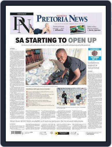 Pretoria News Weekend June 6th, 2020 Digital Back Issue Cover