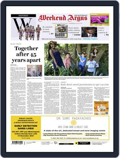 Weekend Argus Saturday Magazine (Digital) October 16th, 2021 Issue Cover