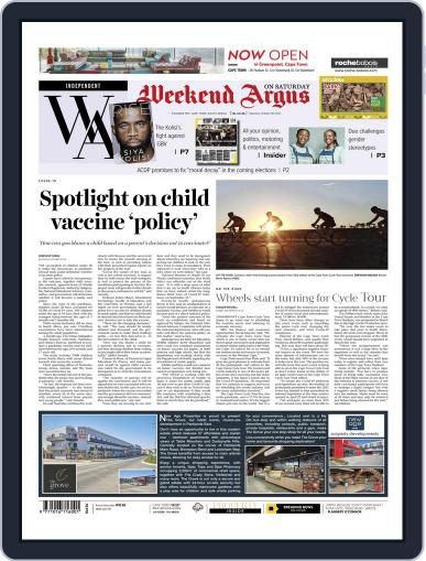 Weekend Argus Saturday Magazine (Digital) October 9th, 2021 Issue Cover