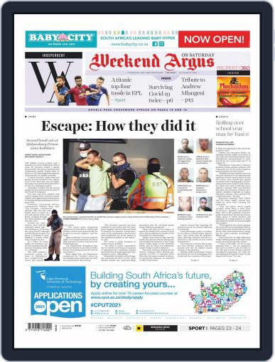 Weekend Argus Saturday (Digital) July 25th, 2020 Issue Cover