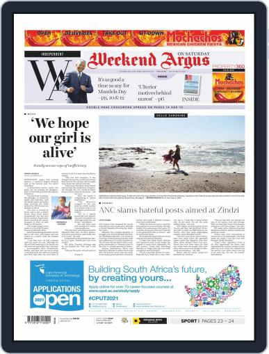 Weekend Argus Saturday (Digital) July 18th, 2020 Issue Cover