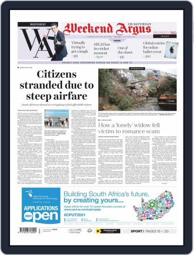 Weekend Argus Saturday July 11th, 2020 Digital Back Issue Cover