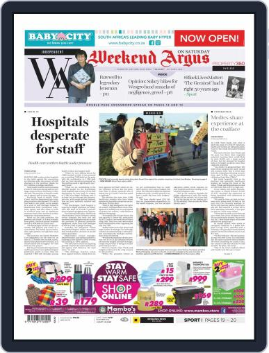 Weekend Argus Saturday July 4th, 2020 Digital Back Issue Cover