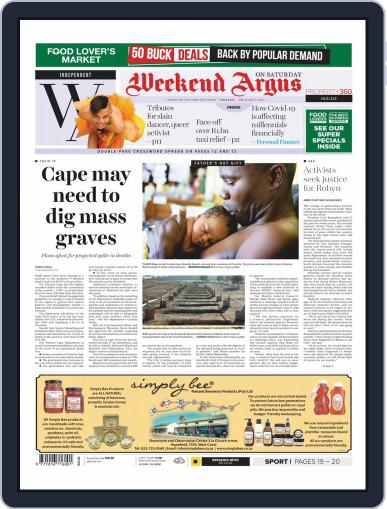 Weekend Argus Saturday June 20th, 2020 Digital Back Issue Cover