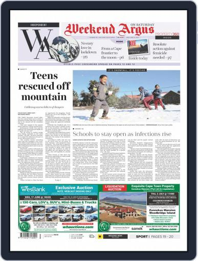 Weekend Argus Saturday June 13th, 2020 Digital Back Issue Cover