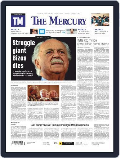 Mercury September 10th, 2020 Digital Back Issue Cover
