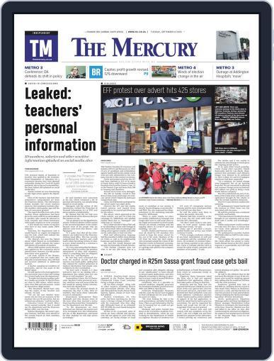 Mercury September 8th, 2020 Digital Back Issue Cover