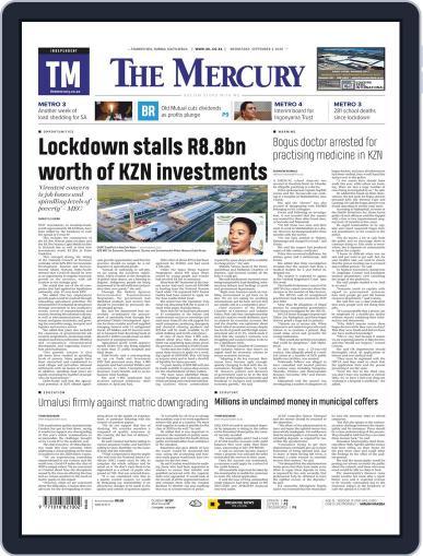 Mercury September 2nd, 2020 Digital Back Issue Cover