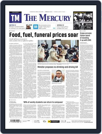 Mercury (Digital) August 27th, 2020 Issue Cover