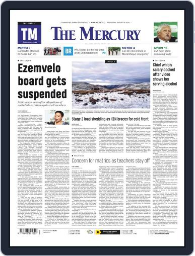 Mercury (Digital) August 19th, 2020 Issue Cover