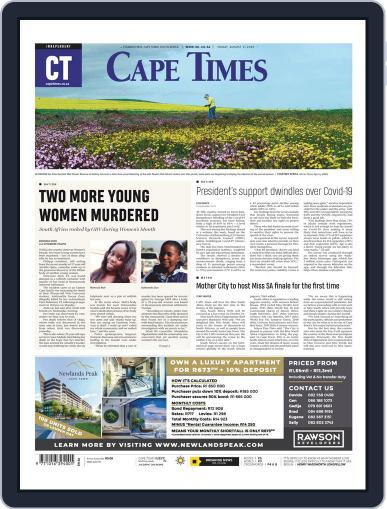 Cape Times (Digital) August 21st, 2020 Issue Cover