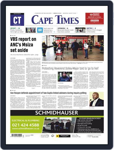 Cape Times (Digital) August 12th, 2020 Issue Cover