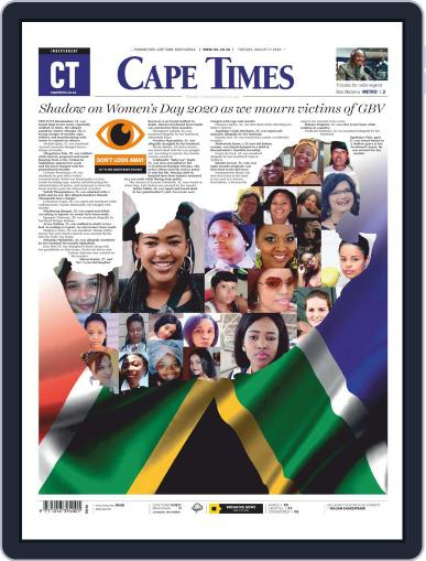 Cape Times August 11th, 2020 Digital Back Issue Cover