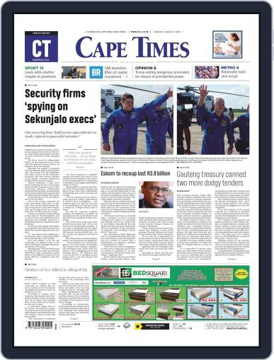 Cape Times August 4th, 2020 Digital Back Issue Cover