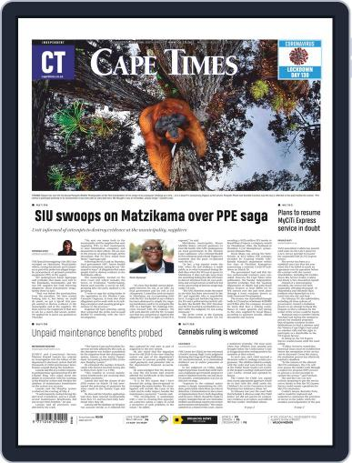 Cape Times (Digital) August 3rd, 2020 Issue Cover