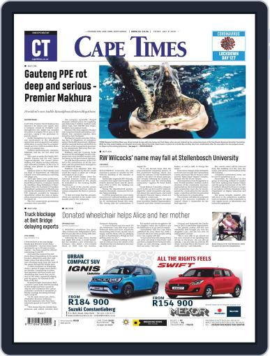Cape Times July 31st, 2020 Digital Back Issue Cover