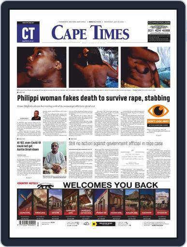 Cape Times July 29th, 2020 Digital Back Issue Cover