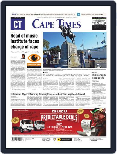 Cape Times July 27th, 2020 Digital Back Issue Cover