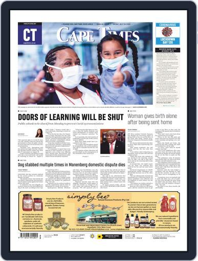 Cape Times (Digital) July 24th, 2020 Issue Cover