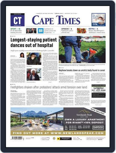 Cape Times (Digital) July 22nd, 2020 Issue Cover