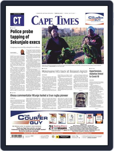 Cape Times (Digital) July 21st, 2020 Issue Cover