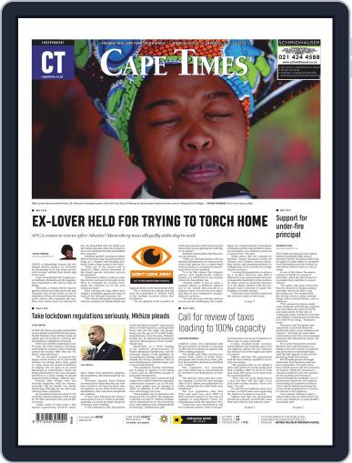 Cape Times July 20th, 2020 Digital Back Issue Cover