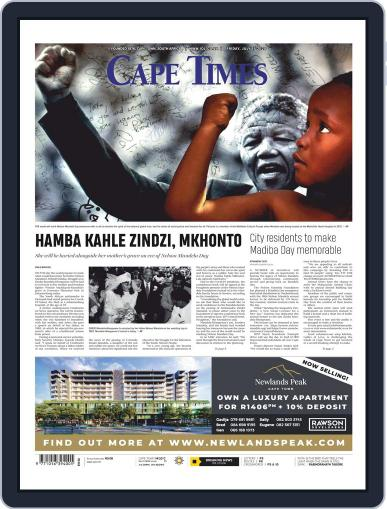 Cape Times July 17th, 2020 Digital Back Issue Cover