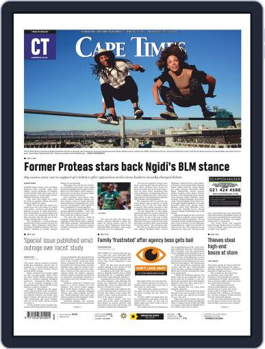 Cape Times (Digital) July 15th, 2020 Issue Cover