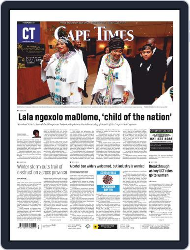Cape Times July 14th, 2020 Digital Back Issue Cover