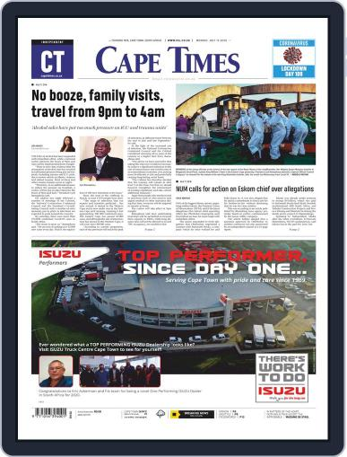 Cape Times July 13th, 2020 Digital Back Issue Cover