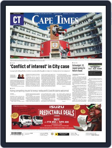 Cape Times July 8th, 2020 Digital Back Issue Cover
