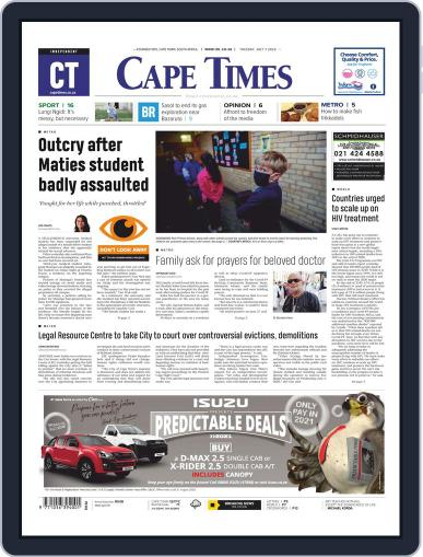 Cape Times July 7th, 2020 Digital Back Issue Cover