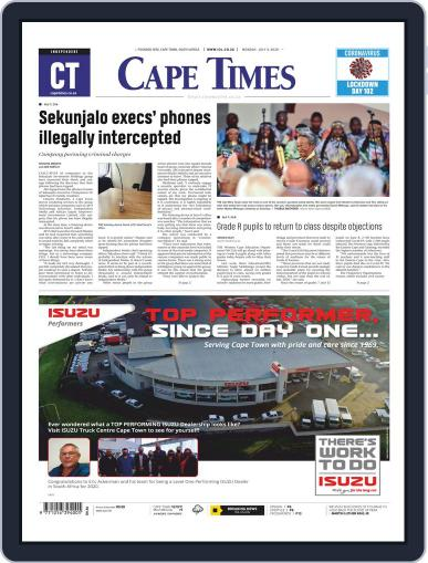 Cape Times July 6th, 2020 Digital Back Issue Cover