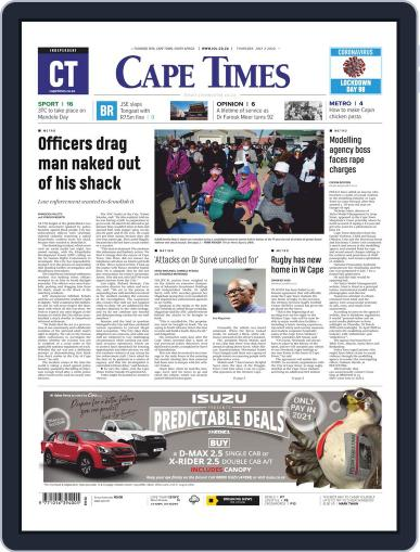 Cape Times July 2nd, 2020 Digital Back Issue Cover
