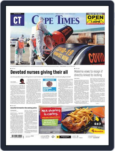 Cape Times June 26th, 2020 Digital Back Issue Cover