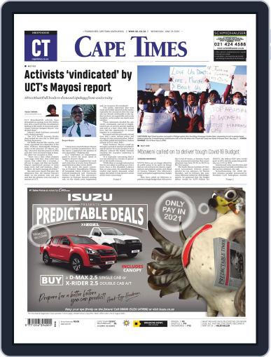 Cape Times June 24th, 2020 Digital Back Issue Cover