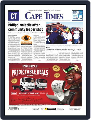Cape Times June 23rd, 2020 Digital Back Issue Cover