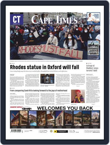 Cape Times June 19th, 2020 Digital Back Issue Cover