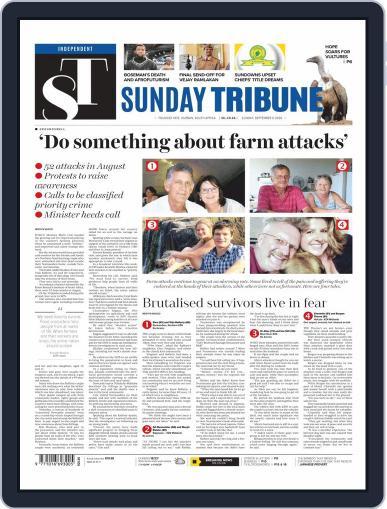 Sunday Tribune September 6th, 2020 Digital Back Issue Cover