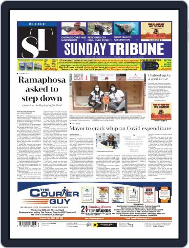 Sunday Tribune August 30th, 2020 Digital Back Issue Cover