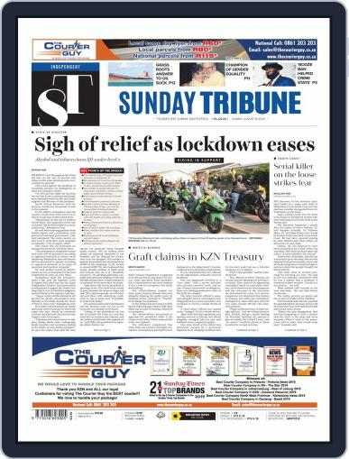 Sunday Tribune August 16th, 2020 Digital Back Issue Cover