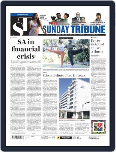 Sunday Tribune June 21st, 2020 Digital Back Issue Cover