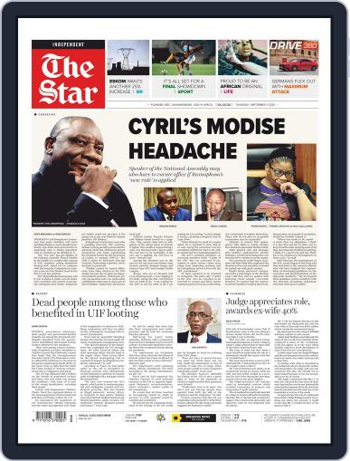 Star South Africa September 3rd, 2020 Digital Back Issue Cover