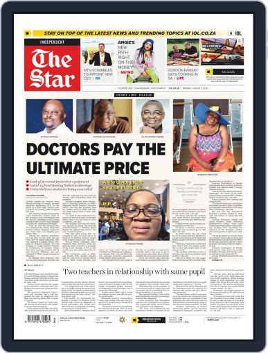Star South Africa August 3rd, 2020 Digital Back Issue Cover