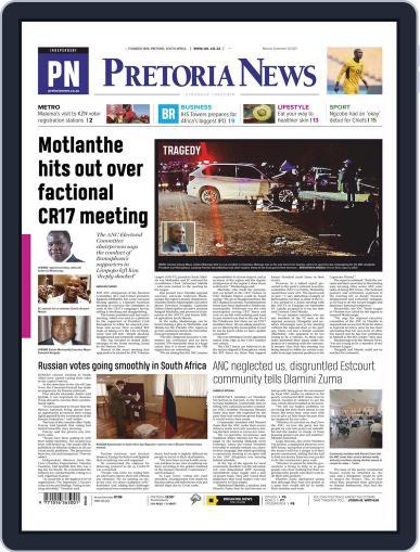Pretoria News Magazine (Digital) September 20th, 2021 Issue Cover