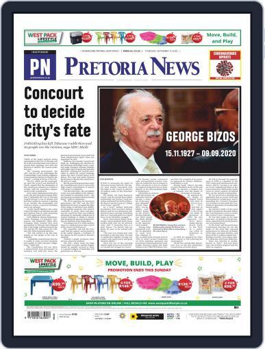 Pretoria News September 10th, 2020 Digital Back Issue Cover