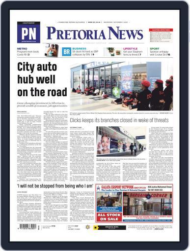 Pretoria News September 9th, 2020 Digital Back Issue Cover
