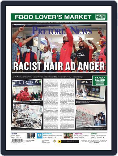 Pretoria News (Digital) September 8th, 2020 Issue Cover